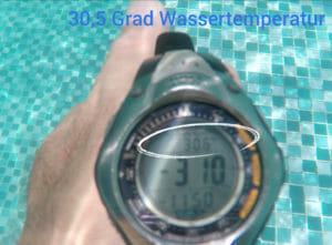 Wassertemperatur Pool